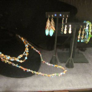 Blue Green Bundle of Jewelry